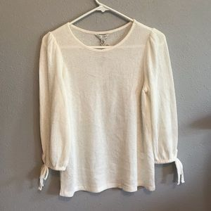 White Lucky Brand Blouse